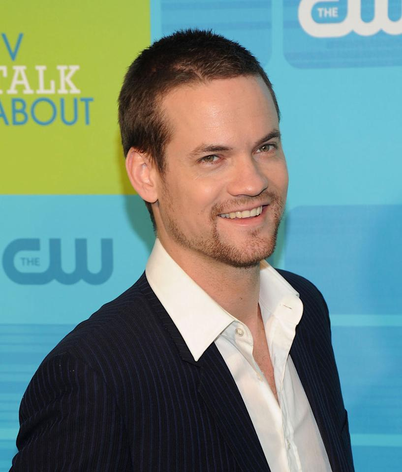 "<a href=""/shane-west/contributor/34560"">Shane West</a> (""<a href=""/nikita/show/46555"">Nikita</a>"") attends the 2010 The CW Upfront at Madison Square Garden on May 20, 2010 in New York City."