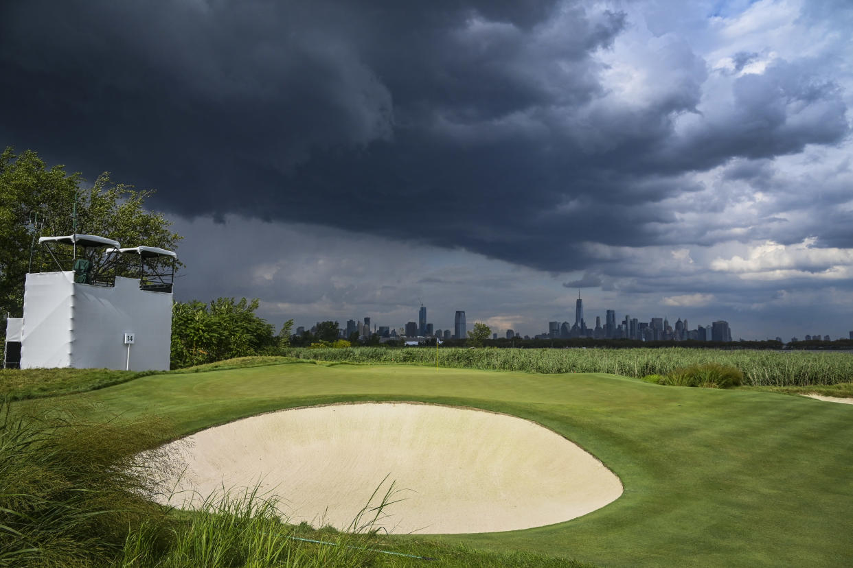 The Northern Trust will play its final round on Monday due to a hurricane approaching the New York City area. (Keyur Khamar/PGA TOUR/Getty Images)