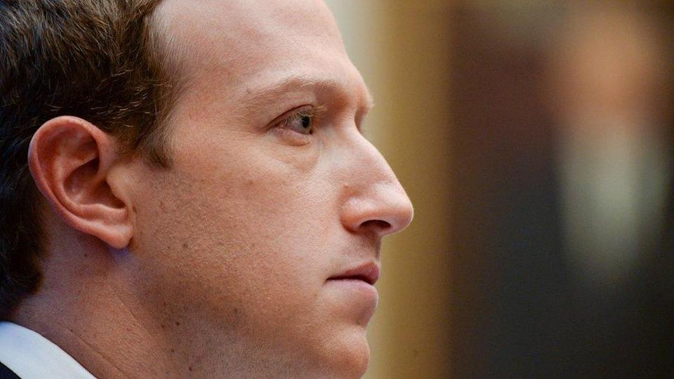 Facebook Chairman and CEO Mark Zuckerberg testifies at a House Financial Services Committee hearing in Washington, U.S., October 23, 2019.