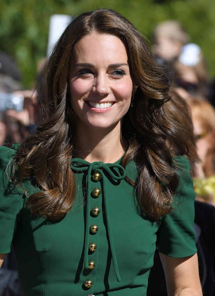 holiday hair styles kate middleton s best hair and makeup looks of 2016 so far 2336 | b2727537efa81ba2ce6725db6d2336d4