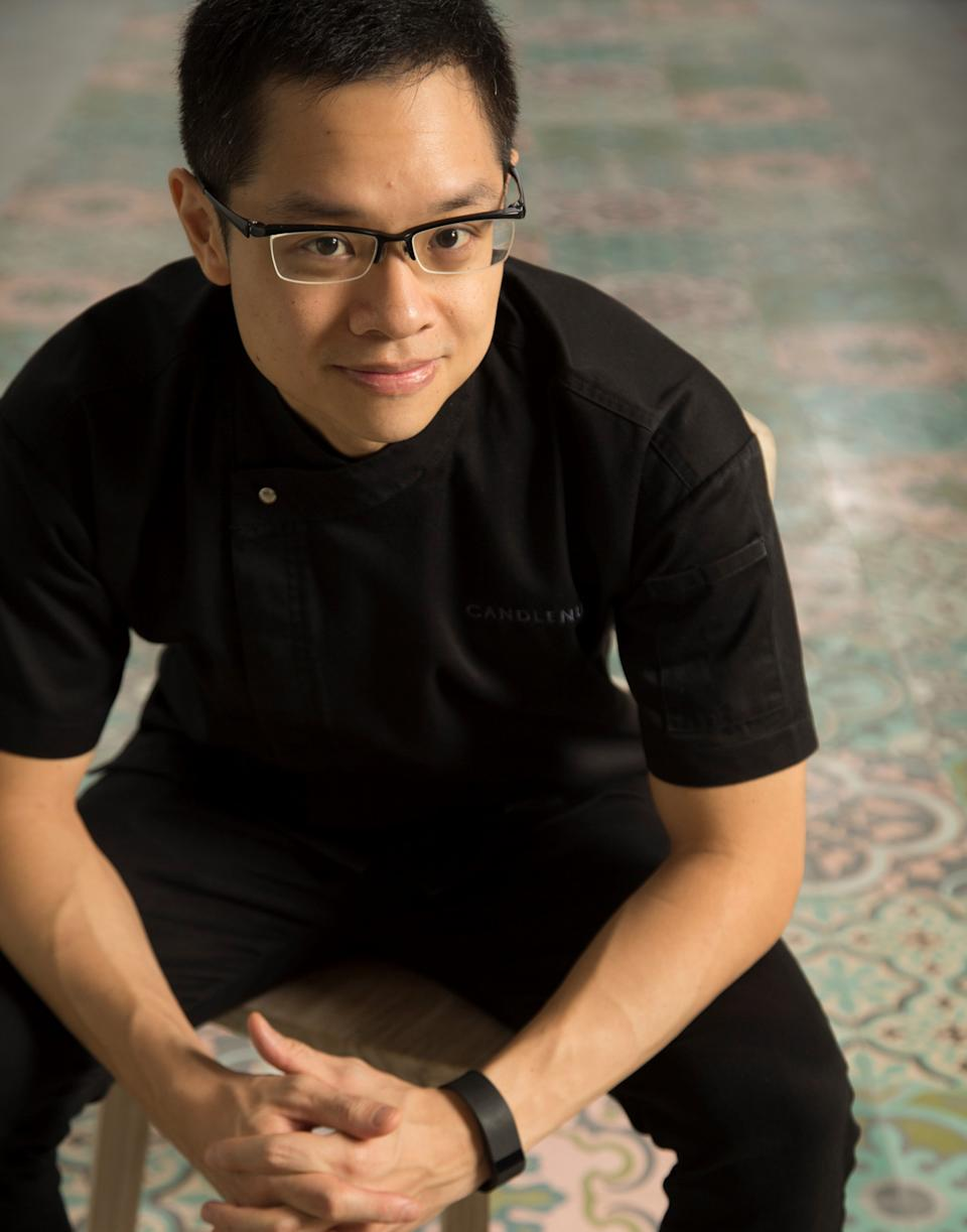 Chef Malcom Lee. (PHOTO: Candlenut)