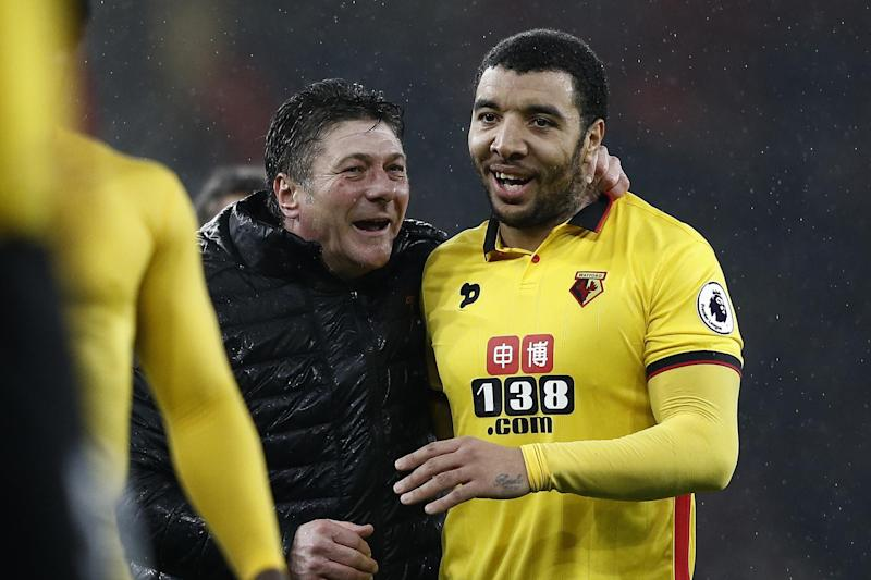 Mazzarri has helped the Hornets earn 40 points this season: AFP/Getty Images