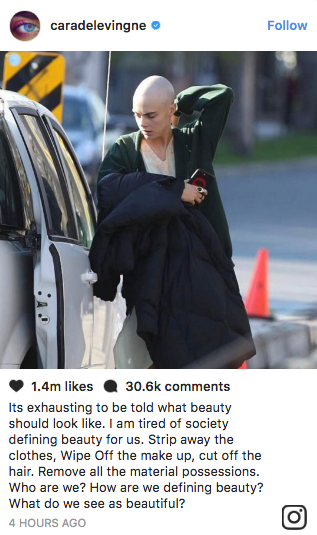 """It's exhausting to be told what beauty should look like."""