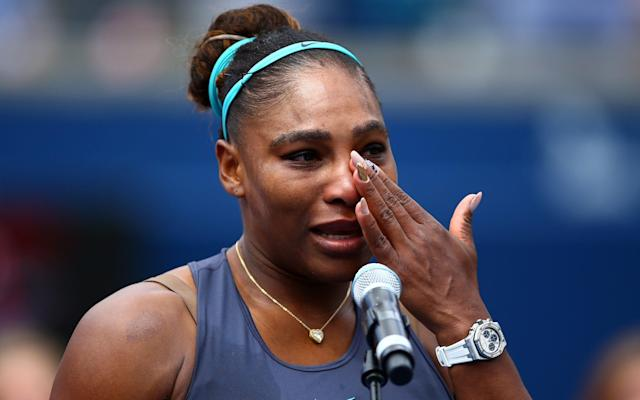 Serena Williams was also forced to withdraw from the Rogers Cup final just days ago - Getty Images North America