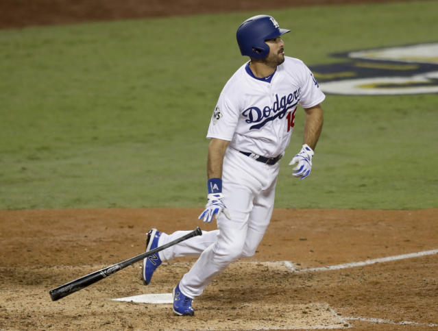 Andre Ethier appeared in 126 games for the Dodgers last season. (AP)