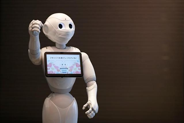 Robots have greeted coronavirus patients in Japanese hotels (Reuters)