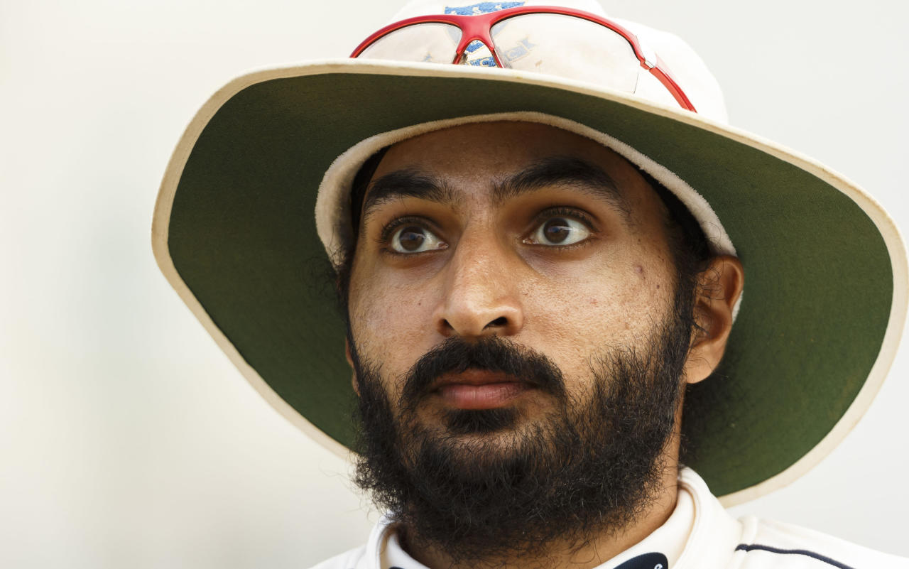 File photo dated 28/07/2013 of Sussex's Monty Panesar.