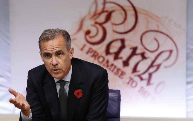 Bank of England governor: Bitcoin has failed