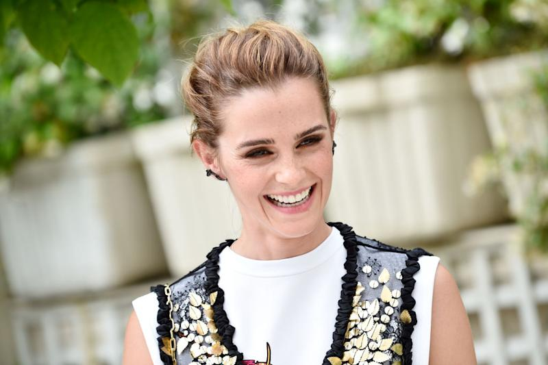 Emma Watson has some pretty great things to say, pictured here at The Circle press call in Paris in 2017. (Getty Images)