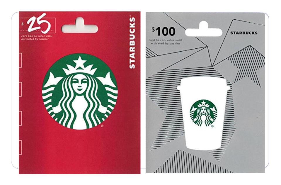 As American as apple pie—nobody doesn't like a Starbucks card. (Photo: Amazon)