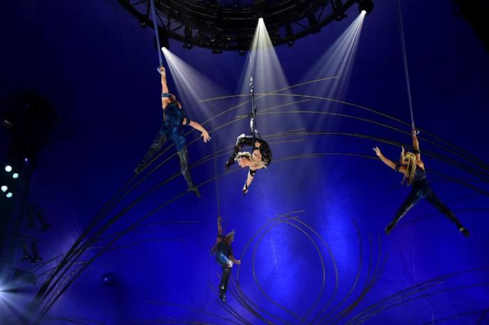 Canada has approved the sale of the government-owned Cirque du Soleil to a US investment fund and its Chinese partners (AFP Photo/Javier Soriano)