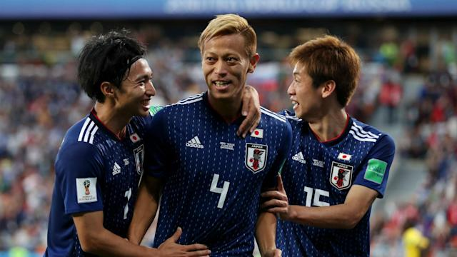 Senegal thought they had one foot in the last 16 of the World Cup before Keisuke Honda's late strike ensured a share of the spoils.