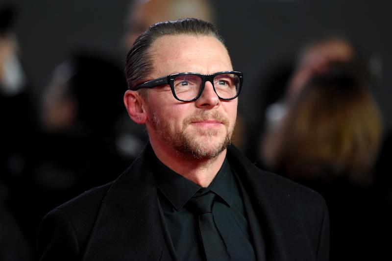 LONDON, ENGLAND - DECEMBER 12: Actor Simon Pegg attends the European Premiere of 'Star Wars: The Last Jedi' at Royal Albert Hall on December 12, 2017 in London, England. (Photo by Stuart C. Wilson/Getty Images)