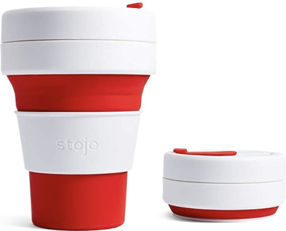 PHOTO: Amazon. Silicone Collapsible Pocket Cup, 355ml