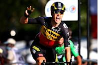 <p>Belgium's Wout van Aert (Jumbo-Visma) won the stage on the Champs-Élysées, his third of this year's Tour de France. Belgium's Jasper Philipsen (Alpecin-Fenix) finished second and Great Britain's Mark Cavendish (Deceuninck – Quick-Step) was third.</p><p>Pogačar dominated the Tour in a manner we haven't seen in years, taking the yellow jersey on Stage 9 and defending it all the way to Paris. Along the way, he won three stages including Stage 5's individual time trial and back-to-back to summit finishes in the Pyrenees (Stages 17 and 18). </p><p>For the second year in a row he also won the white jersey as the Tour's Best Young Rider and the polka dot jersey as the Tour's King of the Mountains. No rider has won three jerseys since Eddy Merckx won the yellow, green, and polka dot jerseys in his debut Tour de France way back in 1969. (The white jersey wasn't awarded back in 1969, but Merckx would have won that too.) Now Pogačar's done it twice.</p><p>For only the second time in his career, Cavendish took the green jersey as the winner of the Tour's Points Classification. The 36-year-old wasn't even supposed to be racing but came to the Tour as a last-minute call-up and won four stages, bringing his career tally to 34. With Cavendish now tied with Merckx for the most stage wins in Tour de France history, look for the first field sprint of next year's Tour to be one of the most anticipated races of the year.</p><p><strong>What About Next Year?</strong></p><p>So far, all we know about the 2022 Tour de France is that it begins on Friday, July 1 in Denmark, with a short individual time trial in Copenhagen. And while anything can happen between now and then, given the way he crushed this year's competition, it's hard to see anyone defeating Pogačar in 2022. The 22-year-old was easily the Tour's most complete rider—against the clock and in the mountains, no one could challenge him.</p><p>The most popular rider on next year's starting line might be this year's biggest surprise