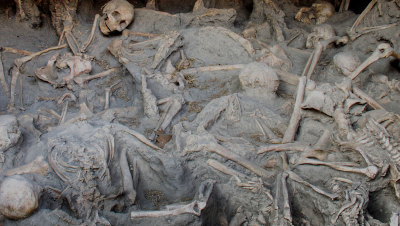 Pompeii Volcano Boiled Peoples Blood Instantly And Made Their Heads Explode
