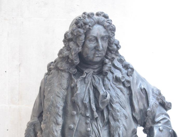 Sir John Gass statue in Guildhall (Wikimedia Commons / Creative Commons licence)
