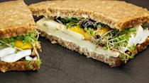 Sandwiches can be more than just plain bread & stuffing with a few easy ideas. Use colorful vegetables, sliced cheese, grilled meats, flavorful spreads & varieties of breads to make it an interesting lunch/dinner option or a picnic snack. Grill or toast the bread to enhance the flavors of the bread & make a wholesome meal.