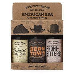"If your co-worker is a mixologist part-time, he or she will appreciate this variety pack of bitters from Dutch's. They're made with organic ingredients and include cocktail recipes. <a href=""http://byobto.com/collections/dutch-s-spirits/products/dutch-s-american-era-variety-3-pack"" target=""_blank"">Get it here.</a>"