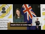 "<p>Addressing New Zealand in a press conference earlier this week, the country's Prime Minister Jacinda Arden confirmed that both the Tooth Fairy and Easter Bunny are essential workers so are able to keep providing their service for he nation's children at this time.</p><p>Arden did tell the crowd however, that they will be with their families at home so if the Easter Bunny doesn't make it to their household this year, circumstances are difficult so encouraged children to draw pictures of Easter Eggs to put in their windows so people can spot them on their daily walks.</p><p><a href=""https://www.youtube.com/watch?v=PpjuDHWClQA"" rel=""nofollow noopener"" target=""_blank"" data-ylk=""slk:See the original post on Youtube"" class=""link rapid-noclick-resp"">See the original post on Youtube</a></p>"