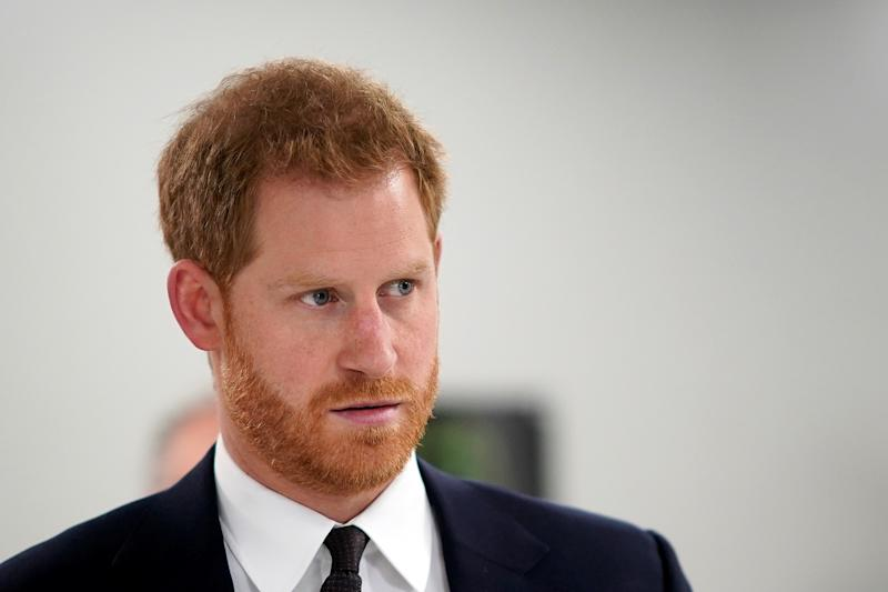 Britain's Prince Harry, Duke of Sussex visits the laboratory as he tours The Institute of Translational Medicine at Queen Elizabeth Hospital, in Birmingham, Britain March 4, 2019. Christopher Furlong/Pool via REUTERS