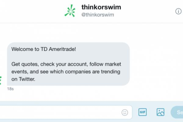 How TD Ameritrade's Twitter Chatbot Works