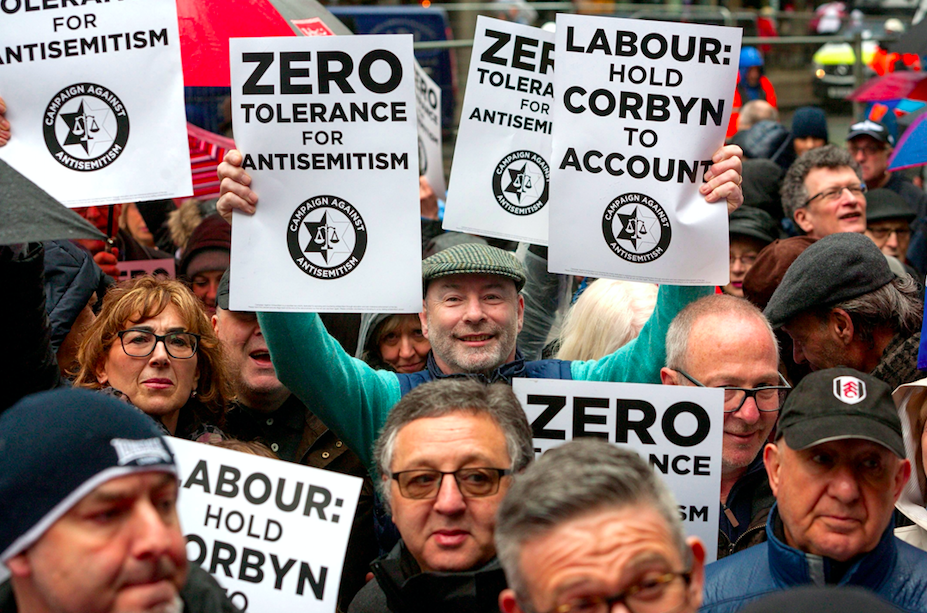 <em>Labour has been rocked by claims it is infested with anti-Semitism (Rex)</em>
