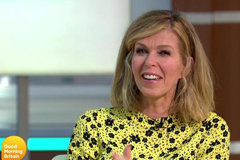 Returning: Garraway was back in the studio to announce her presenting plans (ITV)