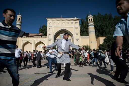 Authorities point to the threat of terrorism to justify the extraordinary spending -- members of the mostly Muslim Uighur minority have been tied to mass stabbings, bombings, riots and clashes with the government that left hundreds dead