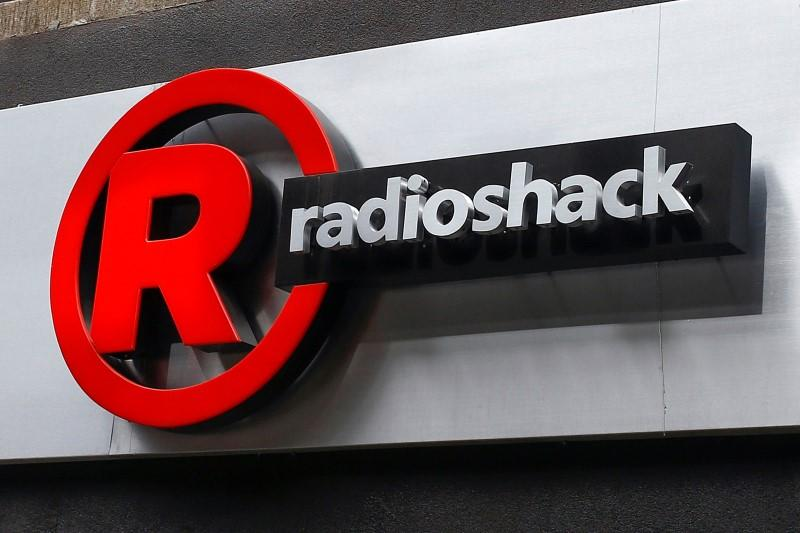 Sign for a RadioShack store is seen in the Brighton Beach section of the Brooklyn borough in New York