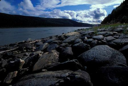 FILE PHOTO: U.S. Fish and Wildlife Service handout shows the Yukon River in Alaska