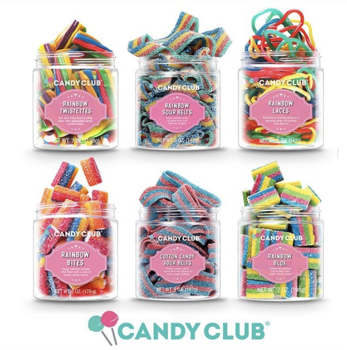 """<p>If you're fine with skipping the salty and savory snacks, Candy Club is all about delivering you something sweet. There are two subscription plans available and the candy options include things like cupcake bites, gummy dinos, and cotton candy taffy.</p><p><a class=""""link rapid-noclick-resp"""" href=""""https://subscription.candyclub.com/checkout/choose-plan"""" rel=""""nofollow noopener"""" target=""""_blank"""" data-ylk=""""slk:SUBSCRIBE"""">SUBSCRIBE</a></p>"""
