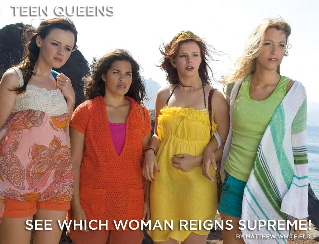"""With the stars of <a href=""""http://movies.yahoo.com/movie/1809883932/info"""">Sisterhood of the Traveling Pants 2</a> ready to rule the box office, take a peek at our list of the top 10 Teen Queens in film history."""