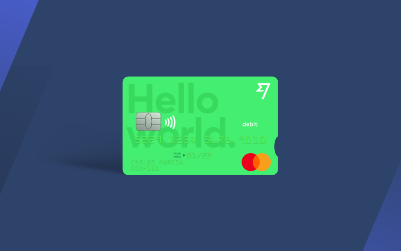 The TransferWise Mastercard debit card