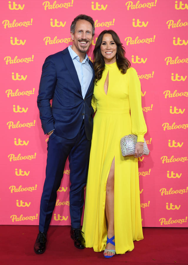 Nick Feeney and Andrea McLean attend the ITV Palooza 2019 at The Royal Festival Hall on November 12, 2019 in London, England. (Photo by Karwai Tang/WireImage)