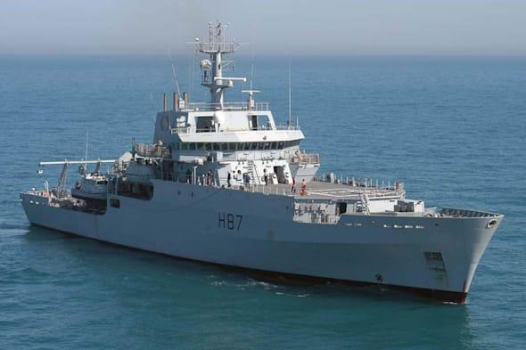 Undated Royal Navy handout photo of HMS Echo, which is due to begin search efforts today to help find missing Malaysia Airlines flight MH370. PRESS ASSOCIATION Photo. Issue date: Wednesday April 2, 2014. Yesterday evening a source said Royal Navy submarine HMS Tireless, the Trafalgar Class submarine, had also arrived in the area - the focus of the search for the missing Boeing 777 - where it will help in the hunt for the plane's flight recorders. See PA story AIR Malaysia. Photo credit should read: Royal Navy/ Crown Copyright/PA WireNOTE TO EDITORS: This handout photo may only be used in for editorial reporting purposes for the contemporaneous illustration of events, things or the people in the image or facts mentioned in the caption. Reuse of the picture may require further permission from the copyright holder.