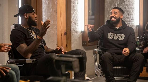 Drake Partners with LeBron James to Launch Uninterrupted in Canada