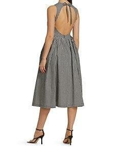 """<br><br><strong>Sandy Liang</strong> Sandy Liang Lull Gingham Dress, $, available at <a href=""""https://go.skimresources.com/?id=30283X879131&url=https%3A%2F%2Fwww.saksfifthavenue.com%2Fproduct%2Fsandy-liang-lull-gingham-dress-0400013606149.html"""" rel=""""nofollow noopener"""" target=""""_blank"""" data-ylk=""""slk:Saks Fifth Avenue"""" class=""""link rapid-noclick-resp"""">Saks Fifth Avenue</a>"""