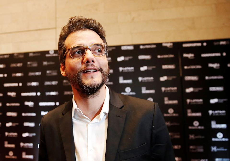 Brazilian director and screenwriter Wagner Moura poses during the SANFIC International Film Festival in Santiago, Chile  August 18, 2019. REUTERS/Rodrigo Garrido