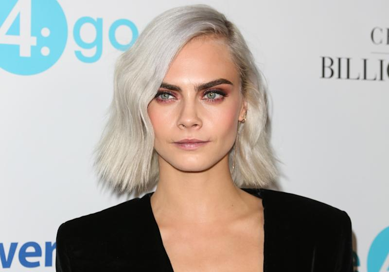 We're pretty sure Cara Delevingne just shaved her head and we're freaking out over here. See the evidence!