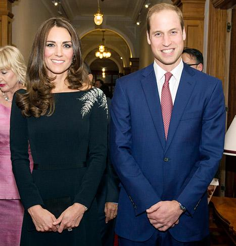 Kate Middleton Looks Slim in Stunning Little Black Dress at Queen's Portrait Unveiling With Prince William: Pictures