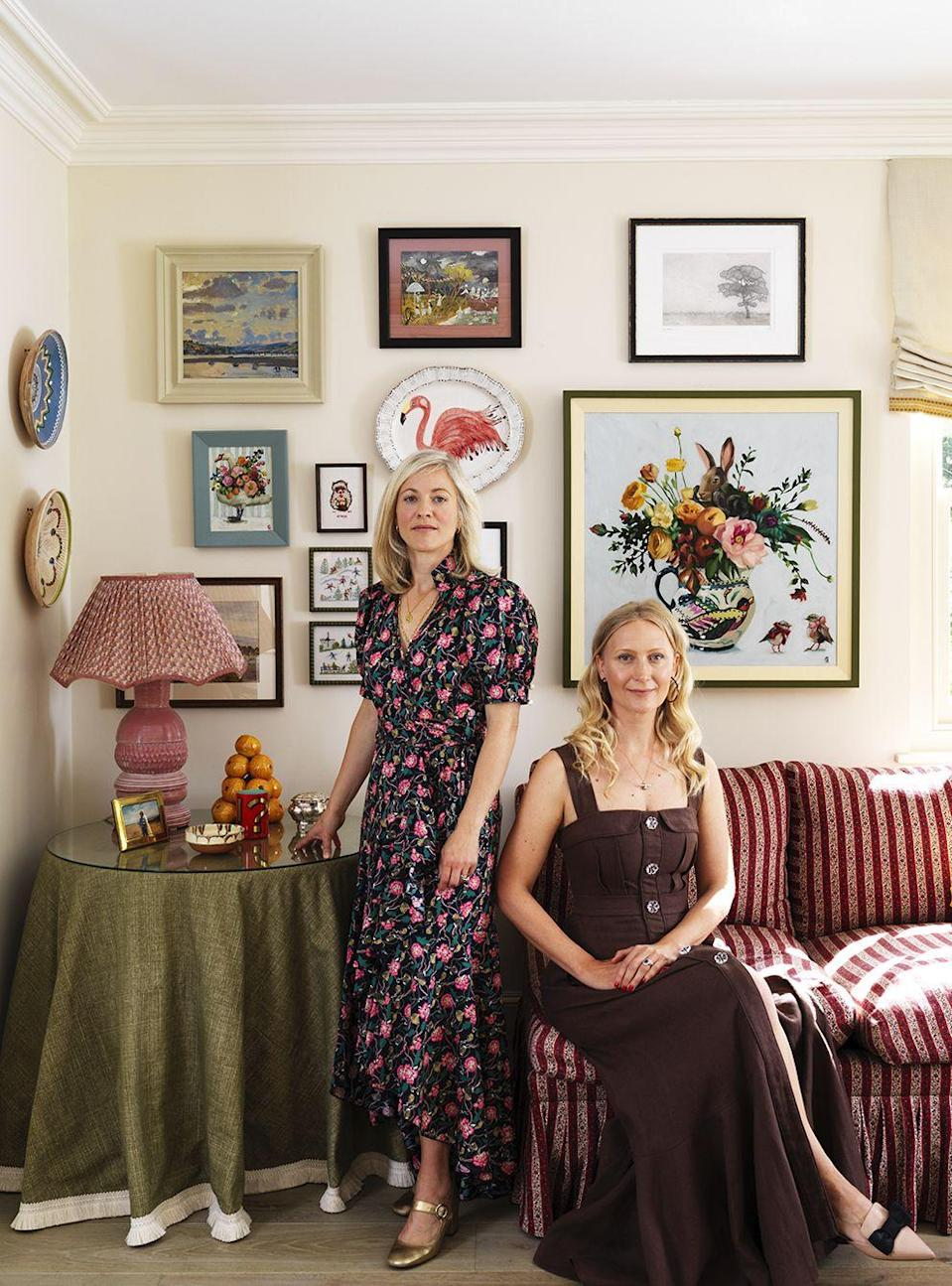 "<p>""I live in a leafy part of southwest London with my husband and three daughters and have remained here throughout the pandemic,"" says Nicole Salvesen, one part of the design duo <a href=""https://www.salvesengraham.com"" rel=""nofollow noopener"" target=""_blank"" data-ylk=""slk:Salvesen & Graham"" class=""link rapid-noclick-resp"">Salvesen & Graham</a>. ""London can be frenetic and pressured at times, and we have all cherished this time as a family where life has slowed down, and being surrounded by our kind and generous neighbours has made us realize what a wonderful community we live in. We also took the opportunity to get the puppy we had been discussing for months and are delighted we did. She gives us even more opportunity to be together as a family, running and walking outside of the working week. The joy she brings us all, especially the children, even makes some of the tougher days bearable, especially as we move in and out of varying restrictions.""<br></p><p>""Having just finished renovating our period farmhouse at the start of the pandemic, it was an unexpected pleasure to be able to spend more time at home with my family and to really have the opportunity to consider all the finishing touches needed to turn the property from a house to a home! My husband and I normally spend half the week in London, so to spend each week in our own home was bliss, although I became absolutely addicted to online antique shopping,"" says Mary Graham. ""I was so grateful for the chance to slow down and enjoy making a home for my family. As interior designers, we rarely get the chance to give as much time to our own homes as to those of our clients, so that has been something I've appreciated beyond measure this year.""</p>"