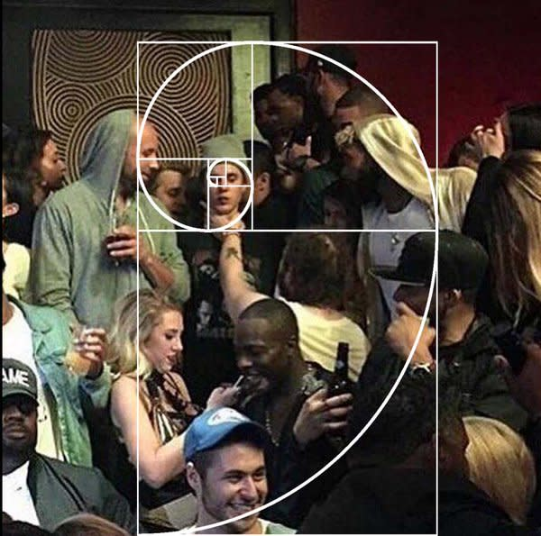 The Photo of Justin Bieber Getting Choked by Post Malone Is Basically 'The Last Supper'