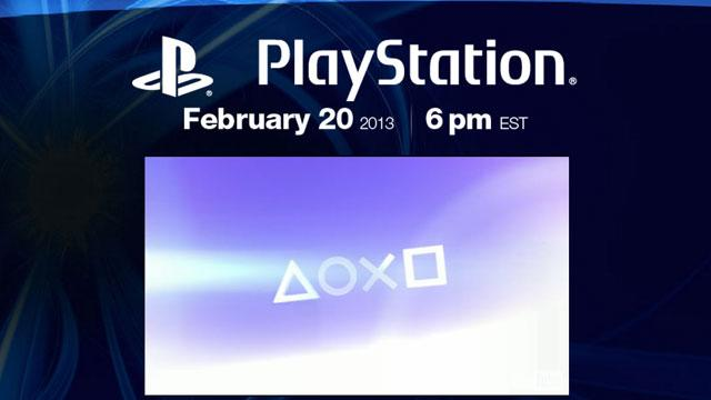 Sony PlayStation 4 Announcement Expected Today
