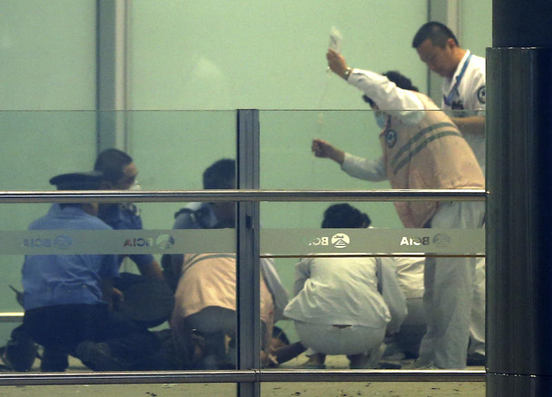 Airport blast leads China to reflect on injustice