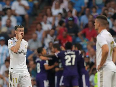 LaLiga: Gareth Bale, James Rodriguez start for Real Madrid against Valladolid but denied win by late Sergi Guardiola equaliser