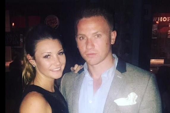 Corrie McKeague, 23, pictured with girlfriend April Oliver, went missing in September: PA