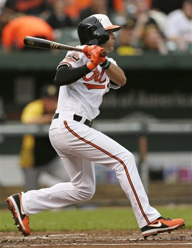 Roberts returns to help Orioles beat Pirates 8-6