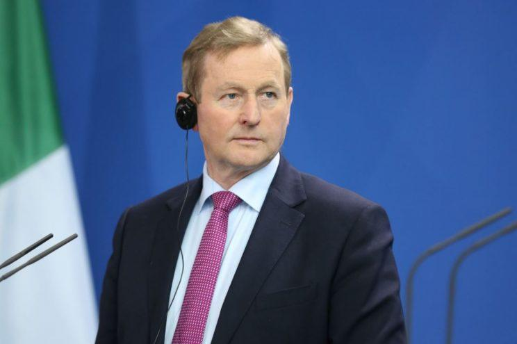 Irish Prime Minister Enda Kenny in Berlin earlier this month (Rex)