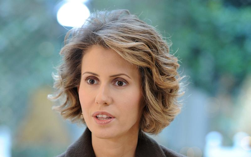 Asma al-Assad, Syrian president Bashar al-Assad's wife - AFP/Getty Images/MIGUEL MEDINA